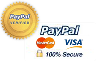 PayPal 100% Secure Online Payment