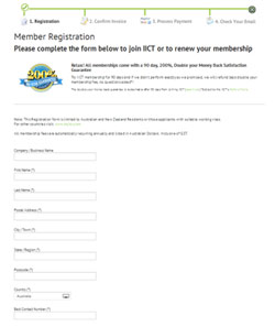 Fill out the Registration form