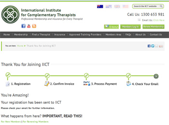 Thank you for joining IICT